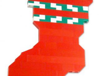 LEGO Christmas Holiday Stocking