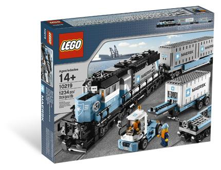 Lego Maersk Train Set