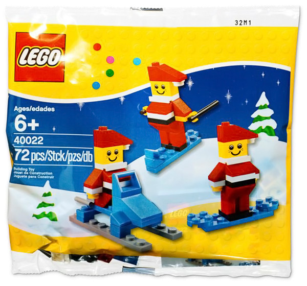 LEGO Mini Santa Set #40022