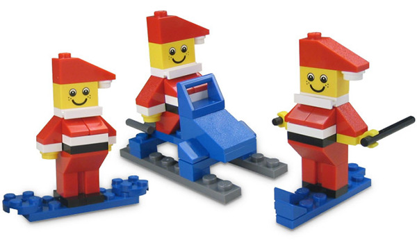 LEGO Mini Santa Set