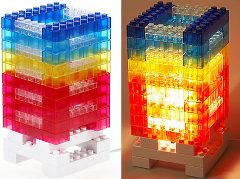 DIY Brick Tower Mood Light