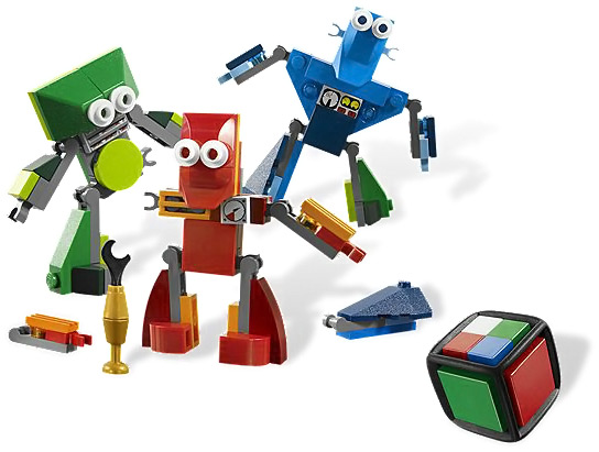 LEGO Robo Champ Game Pieces