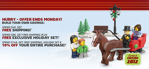 LEGO Shop Cyber Monday Coupon