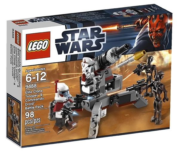 LEGO 9488 Star Wars Battle Pack