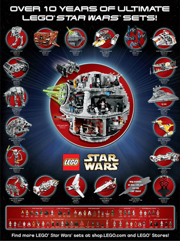 Limited Edition Lego Star Wars Poster