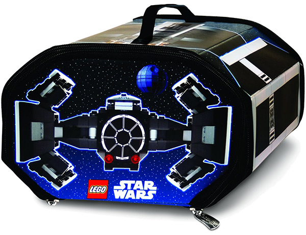 LEGO Star Wars ZipBin TIE Fighter Carry Case