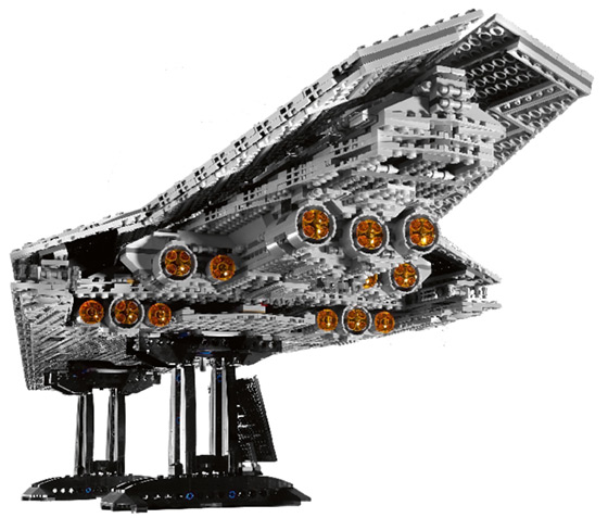Lego Super Star Destroyer Back