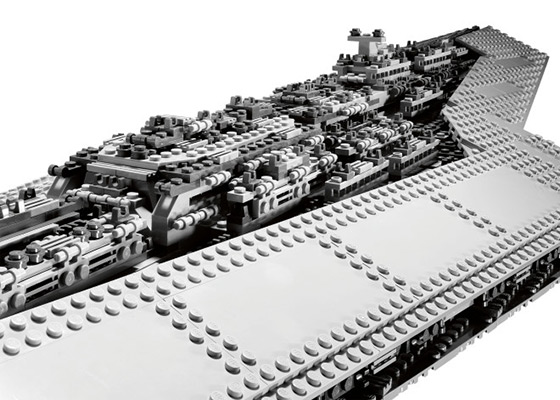 Lego Super Star Destroyer Close Up