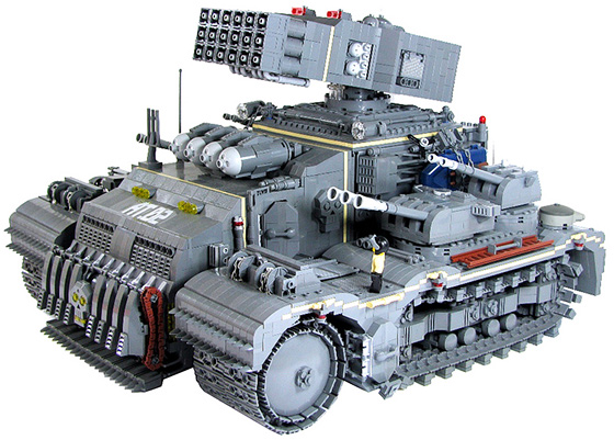 Lego Tonka Heavy Assault Tank