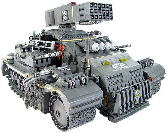 Lego Tonka Heavy Assault Truck