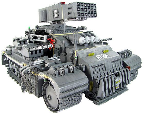 Lego Tonka Heavy Assault Truck
