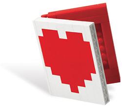 LEGO Heart Book
