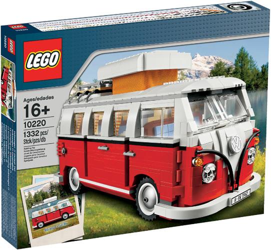 Lego Volkswagen Camper Van #10220