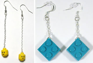 LEGO inspired jewelry