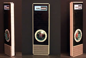 HAL 9000 made of LEGO