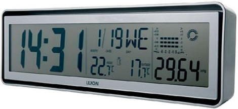 Lexon Status Clock and Weather Station