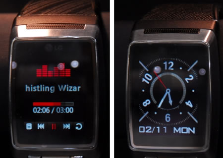 LG Cell Phone Watch