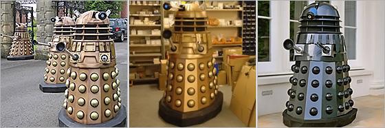 Life Size Dalek Replicas
