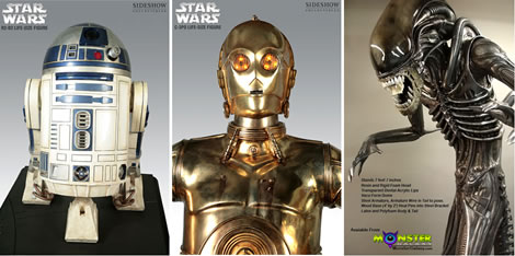3 Cool Life-Size Sci-Fi Collectibles