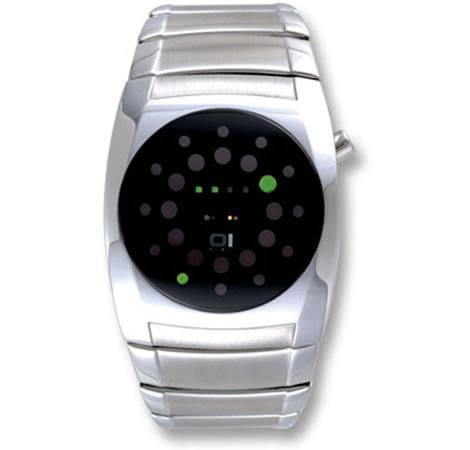 Lightmare Steel LED Watch