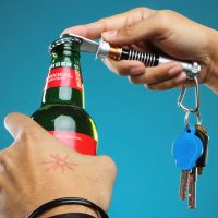 Lightsaber Bottle Opener Key Chain