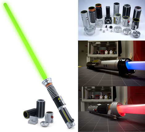 Star Wars DIY Force FX Lightsaber Kit