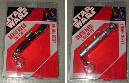 Star Wars Lightsaber Laser Pointers