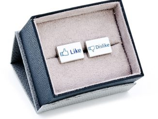 Facebook Like Dislike Cufflinks