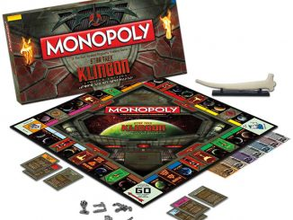 Limited Edition Star Trek Klingon Monopoly