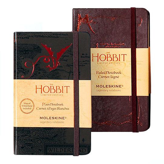 limited_edition_hobbit_moleskine_notebooks