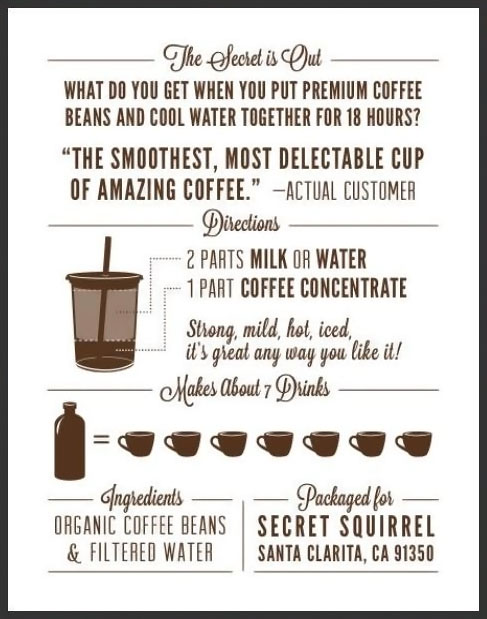 liquid coffee