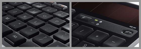 Logitech Wireless Solar Computer Keyboard
