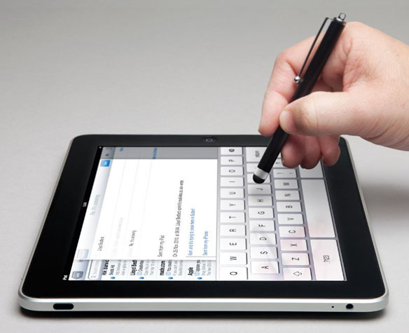 low friction stylus for touchscreen devices