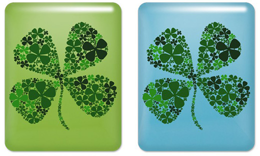 Lucky Clover iPad Cases