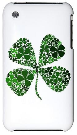 Lucky Clover Apple iPhone 3G Case