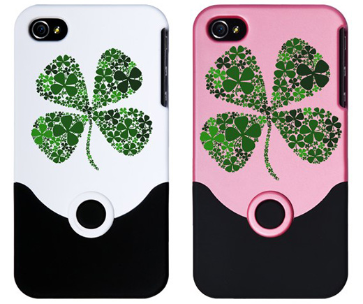 Lucky Clover iPhone 4 Cases