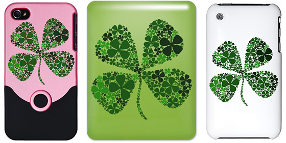 Lucky Clover iPhone 3G, iPhone 4, & iPad Cases