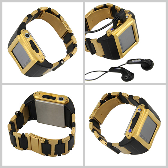 Luxury Touchscreen Cell Phone Watch