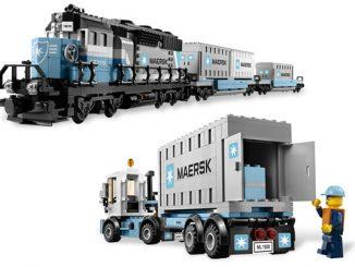 Maersk Train Lego Set