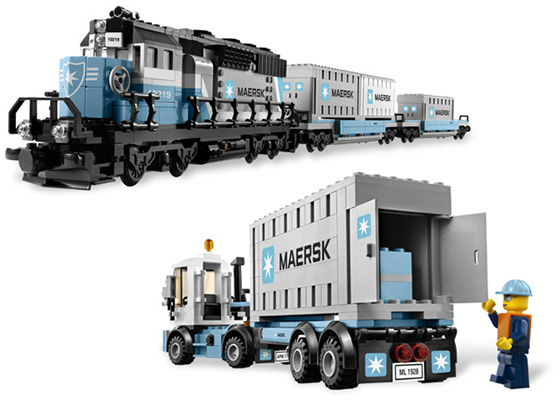 Maersk Train Lego Shop Legocom Home
