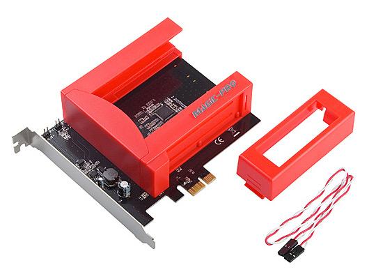 Magic-Pro PCI-Express SATA-III Raid Caddy
