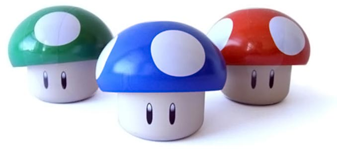 Super Mario Brothers Mushroom Candy