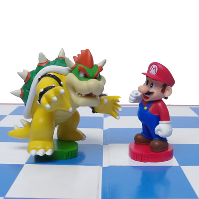 Mario Chess Piece