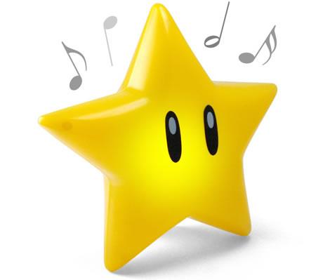 Super Mario Singing Glow Star