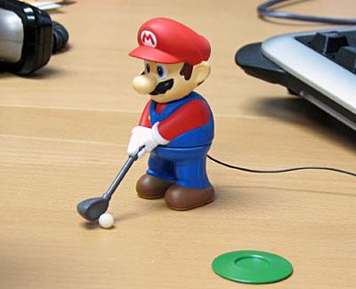 Mini Golfing Mario