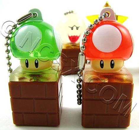 Super Mario Keychain Light