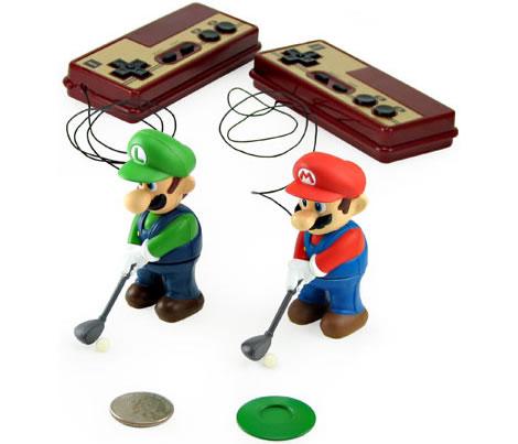 Mini Golfing Mario & Luigi