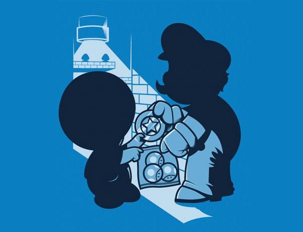 Mario Magic Mushrooms T-shirt