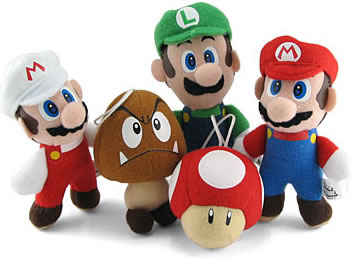 Super Mario Mini Plush
