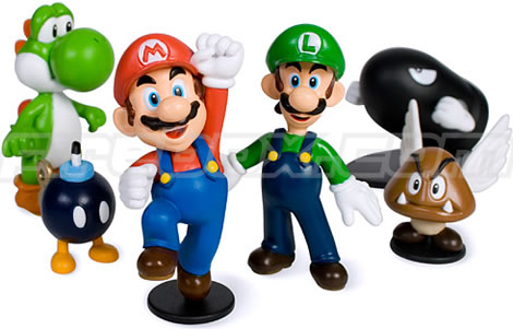 Mario Collectable Vinyl Figures